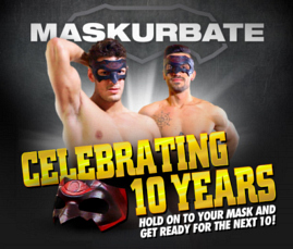 Watch gay anonymous sex fantasy movies. These guys think they're straight but when the mask comes on, the limits go down. How far will they go? Find out at Maskurbate!