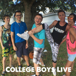 "The gay real world!<br>Now with 5 roomies.<br>Get access to College Boys Live and all<br>content apps.<a href=""https://secure.gunzblazing.com/signup/signup.php?s=93""target=""_blank""><font color=""red""> Join Today! </font></a>"