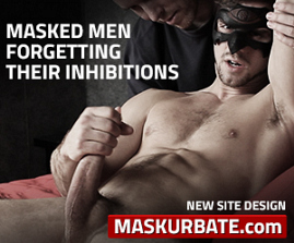 Watch gay anonymous sex fantasy movies. These guys think they're straight but when the mask comes on, the limits go down. How far will they go? Find out at Maskurbate.com!