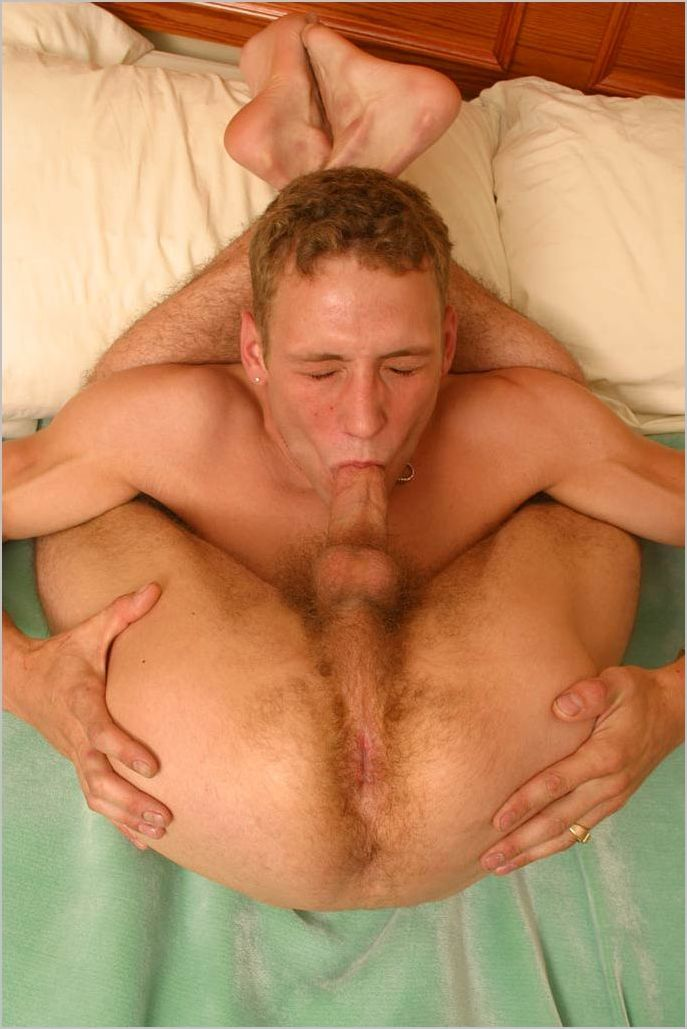 Gif Of The Day Ginger Sucks His Own Dick